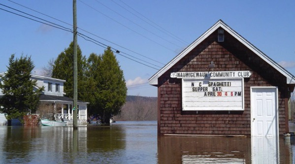 Nauwidgewauk Flooding New Brunswick