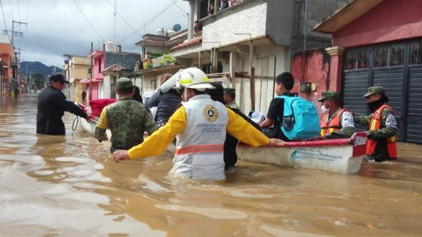 Flood rescues chiapas mexico november 2020 hurricane eta civil protection chiapas 768x432