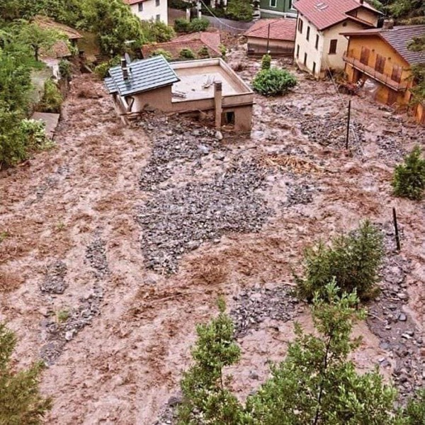 Flood damage in Como Italy July 2021 Gov of Lombardy